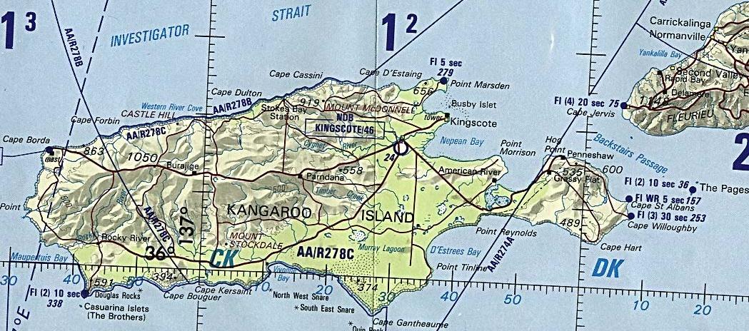 Map Of Australia Kangaroo Island.Australia Maps October 2003